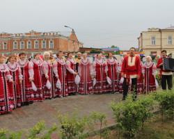 21. На районном празднике Каинск Исторический