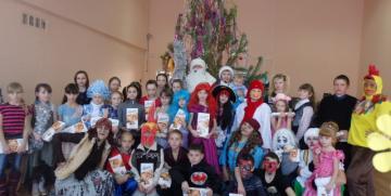 Новогодняя программа для одаренных детей Куйбышевского района